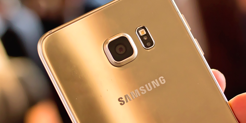 Samsung Galaxy S6 gold mini