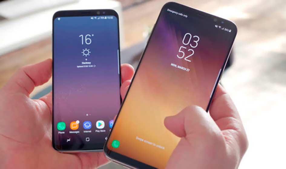 Samsung Galaxy S8 Plus Silver