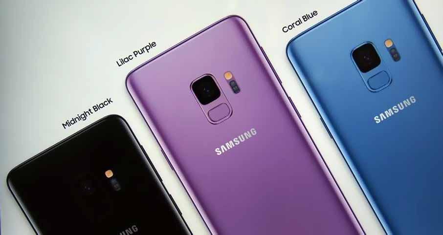 Samsung Galaxy S9 Plus Blue Coral