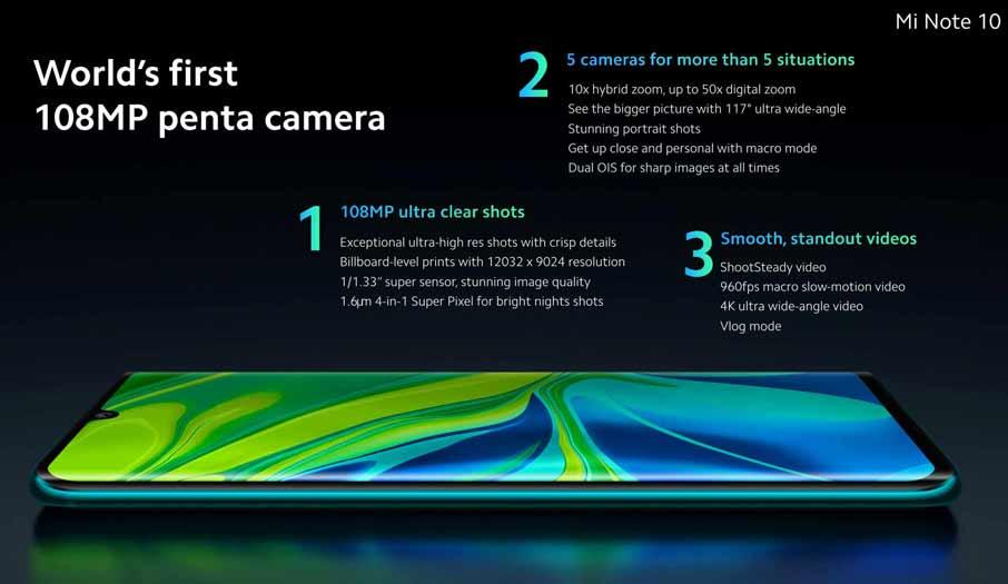 Xiaomi Mi Note 10 Pro (8+256Gb)