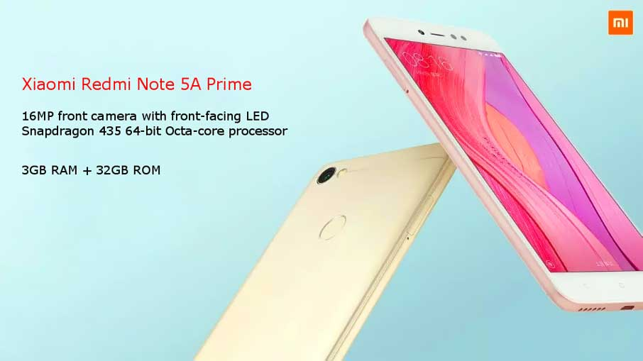 Xiaomi Redmi Note 5A  Prime Grey UA