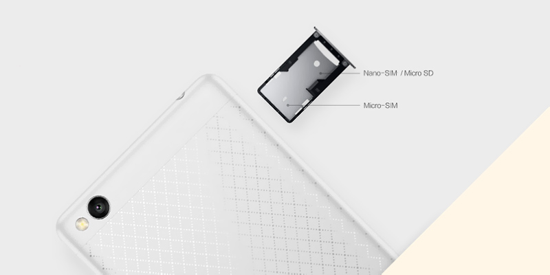 Xiaomi Redmi 3 16 Gb Silver (Fashion) UA