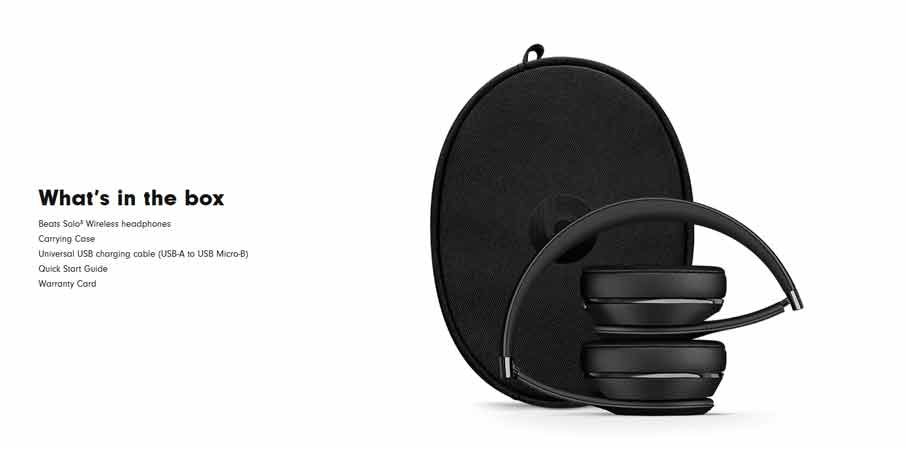 Beats Solo3 Wireless Black