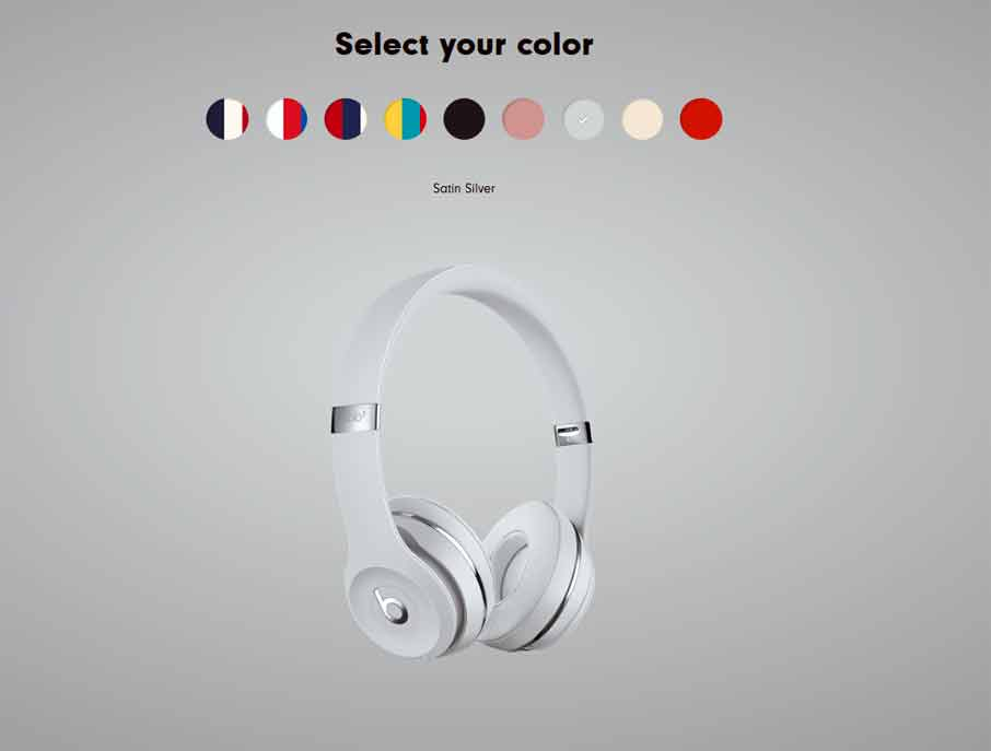Beats Solo3 Wireless Silver (MNEN2)