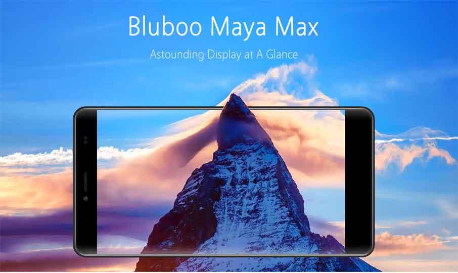 Bluboo Maya Max Grey