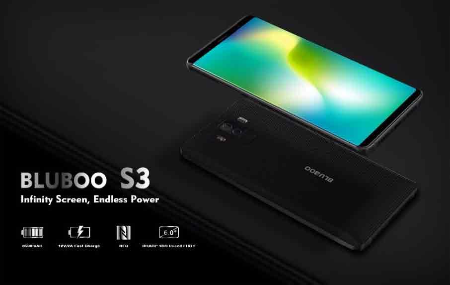 Bluboo S3 Black