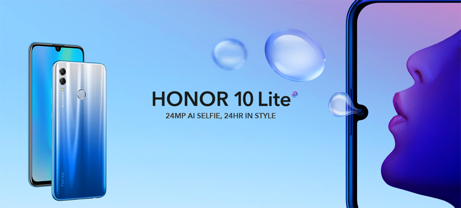 Honor 10 Lite (3+32Gb) Black