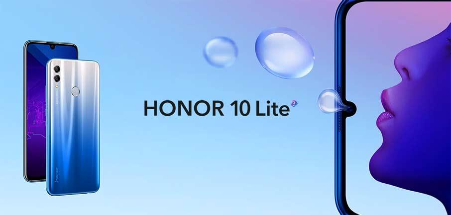Honor 10 Lite (3+32Gb) Blue