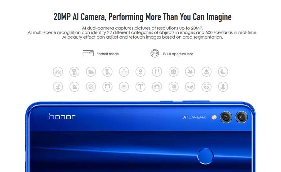 Honor 8X (6+128Gb) Blue