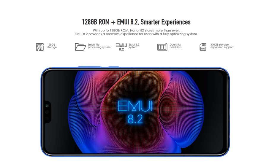 Honor 8X (6+128Gb) Blue UA