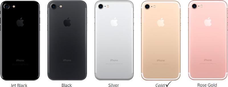 Айфон 7 золотистый
