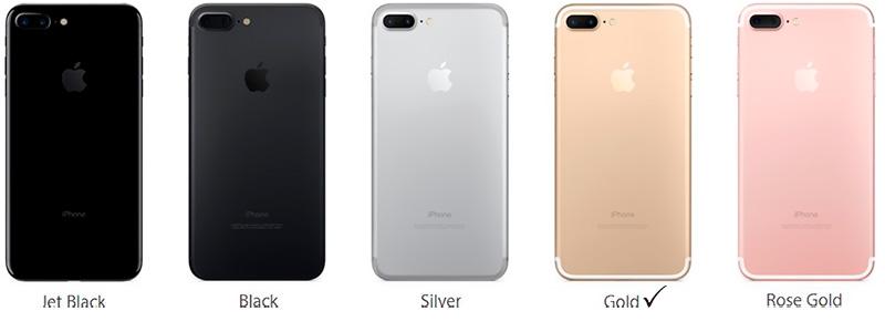 Айфон 7 плюс золотой китай