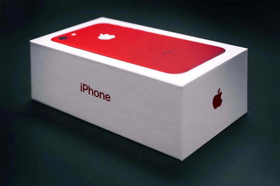 китайский айфон 7 красный