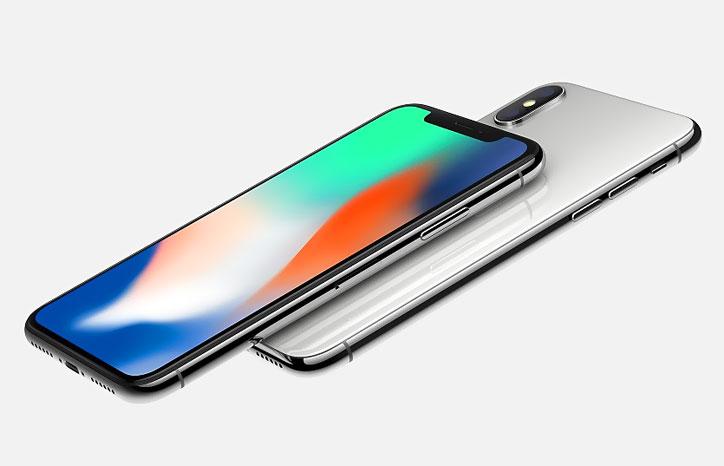 iPhone X Silver (Face ID, Siri)