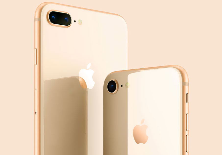 iPhone 8 Plus Gold (+Touch ID, Siri)