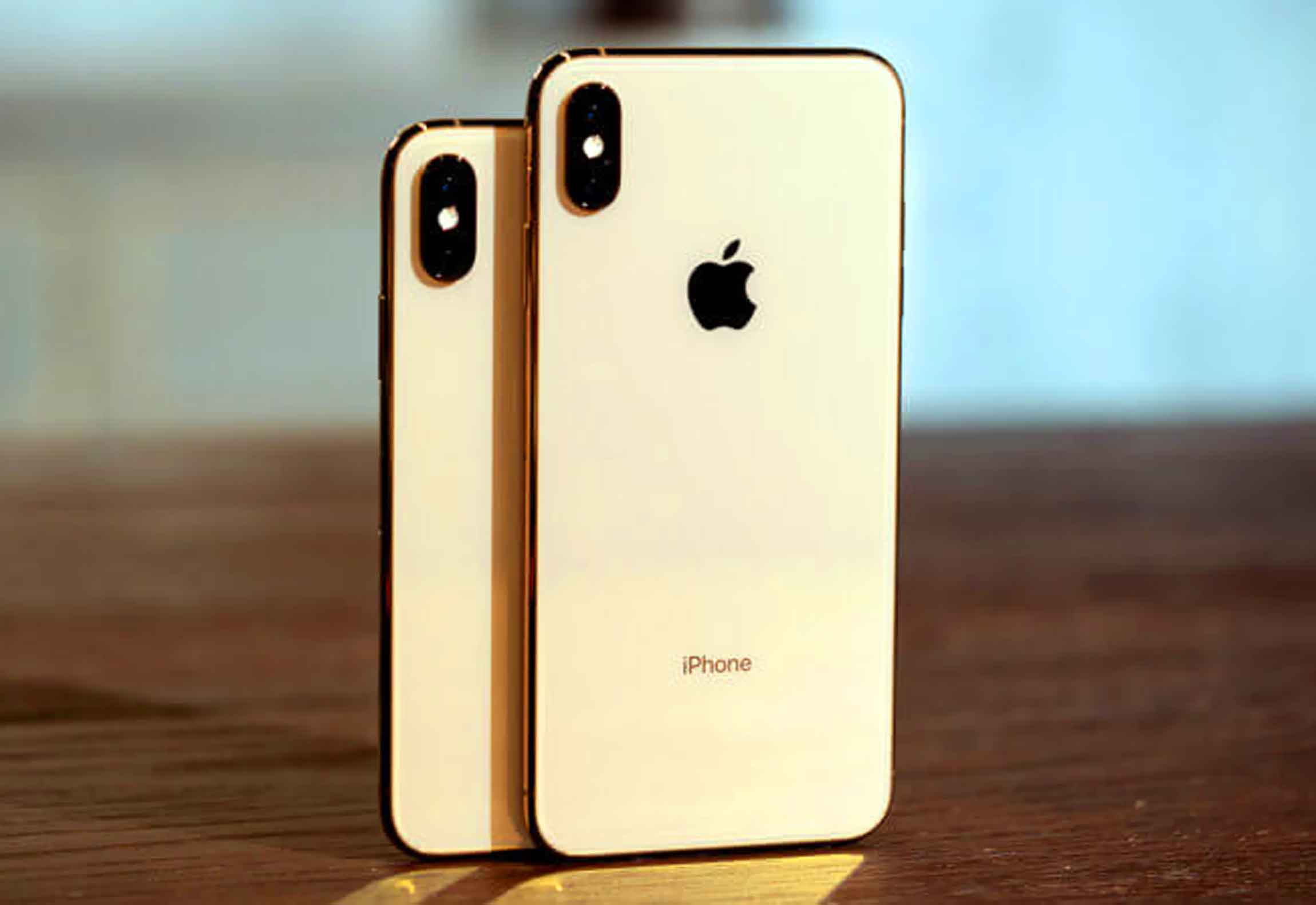 iPhone Xs Gold копия
