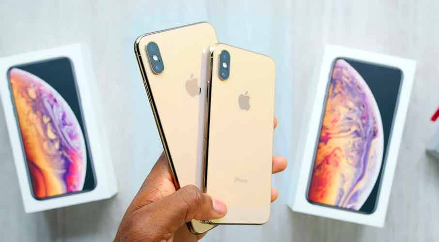 iPhone XS Max Gold Dual SIM