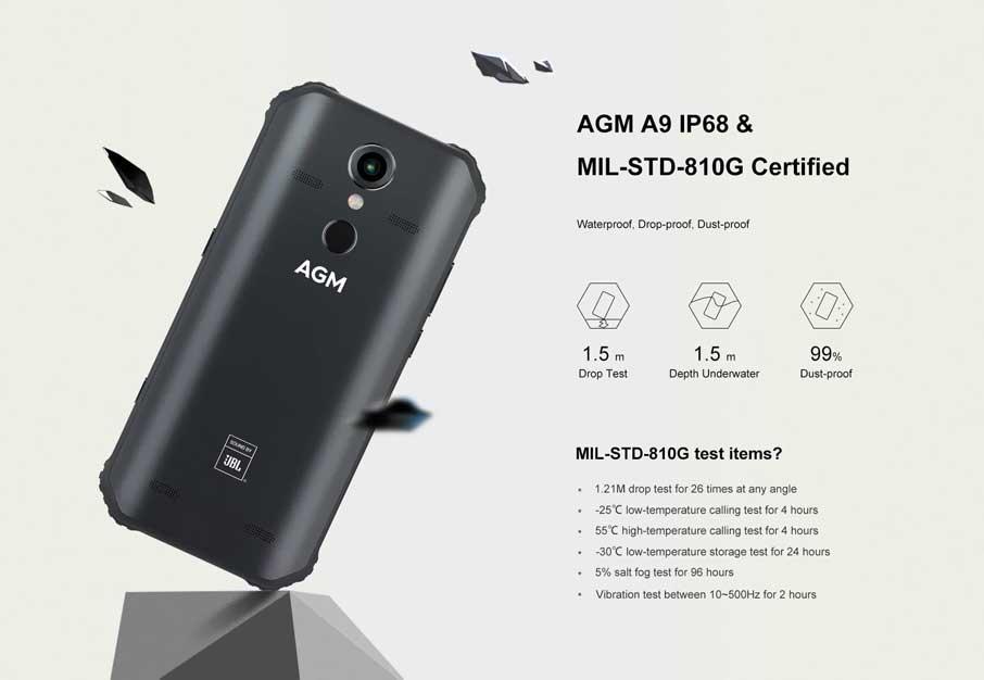 AGM A9 4+64Gb