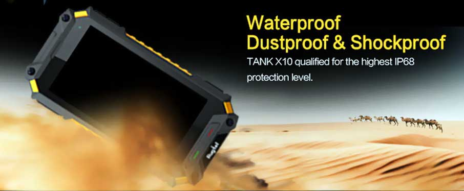 Rugtel Tank X10 Pro Black