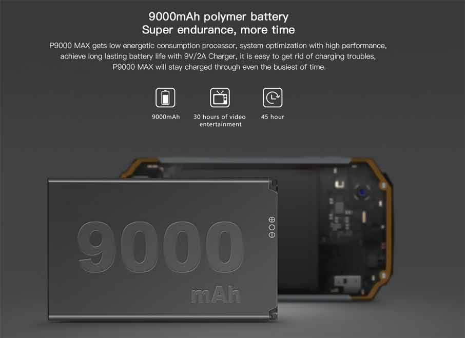 Poptel P9000 Max Black