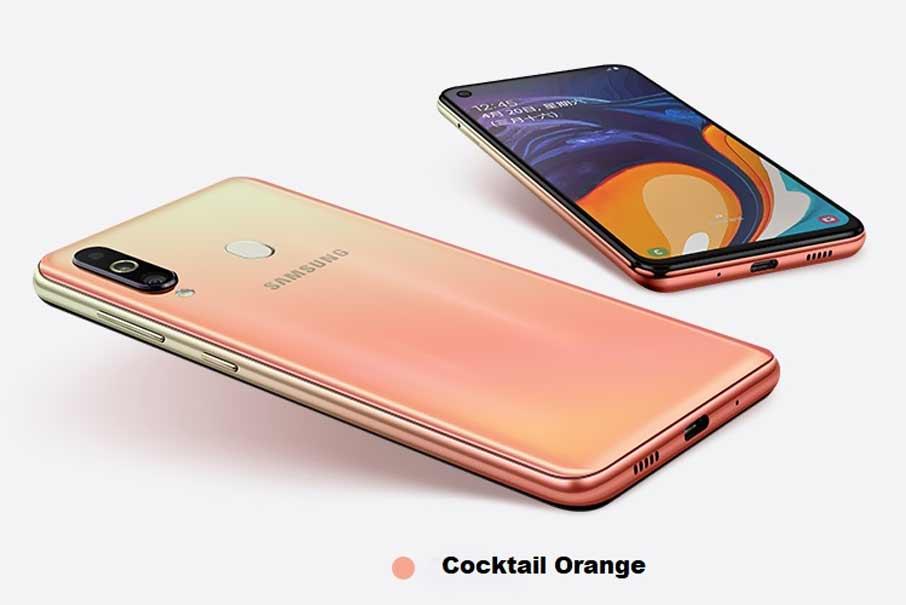 Samsung Galaxy A60 SM-A6060 (6/128Gb) Orange