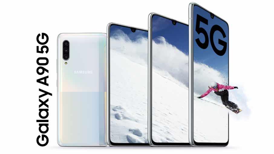 Samsung Galaxy A90 5G 6/128GB Black