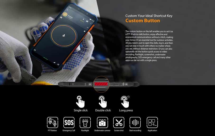 Ulefone Armor X5 Orange