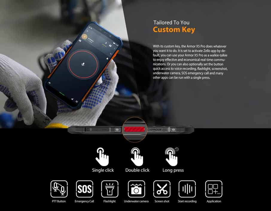 Ulefone Armor X5 Pro Orange
