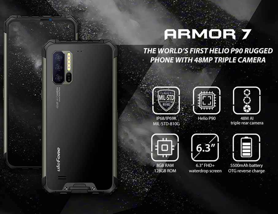 Ulefone Armor 7 (8+128Gb) Black