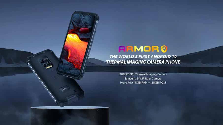 Ulefone Armor 9 (8+128Gb + тепловизор)