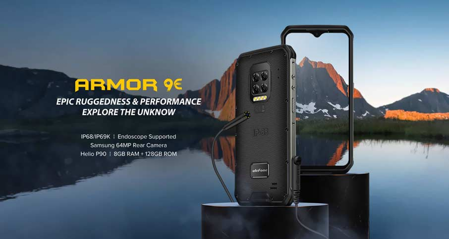 Ulefone Armor 9E (8+128Gb) Black