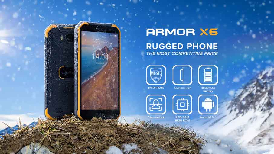 Ulefone Armor X6 (2+16Gb) Black