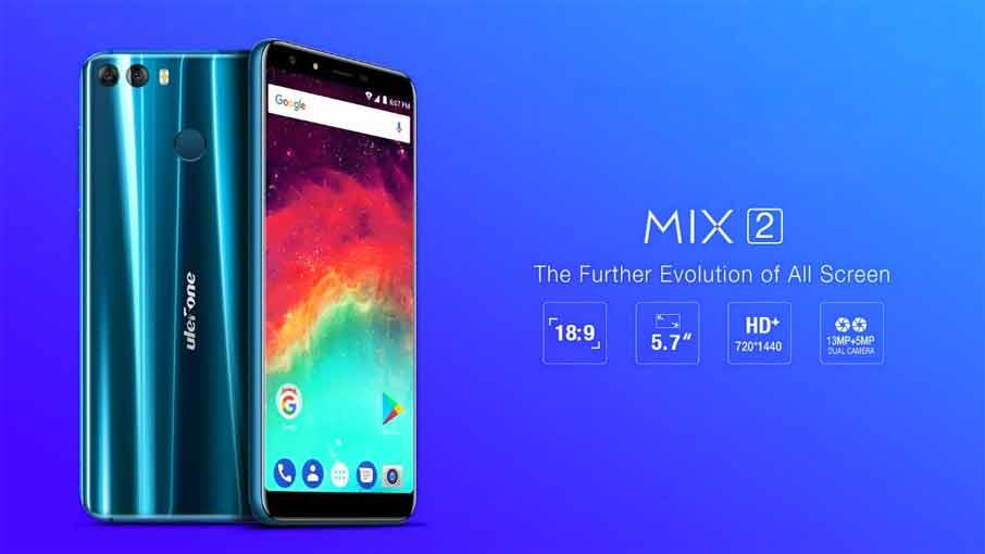 Ulefone Mix 2 (2+16Gb) Black