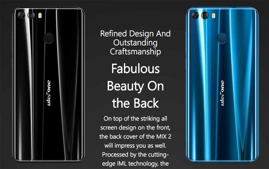 Ulefone Mix 2 (2+16Gb) Blue