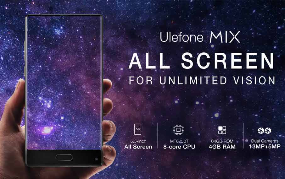 Ulefone Mix (4+64Gb) Black