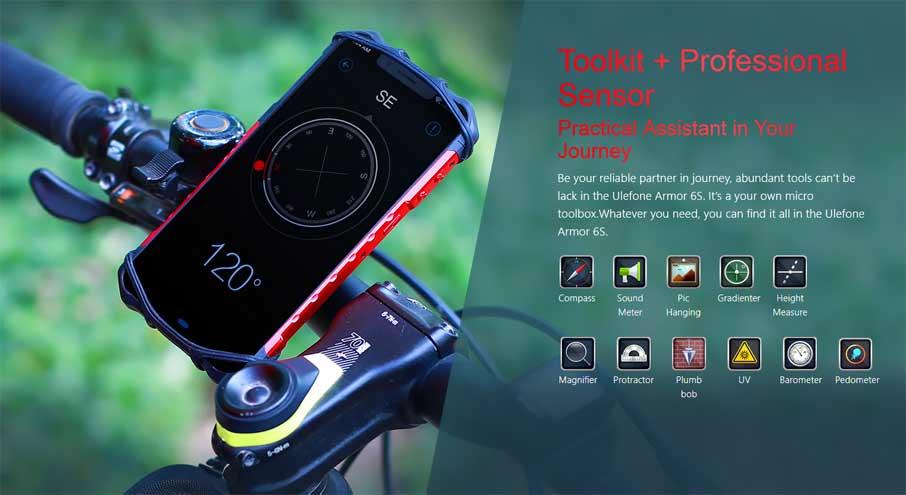 Ulefone Power 6S Red